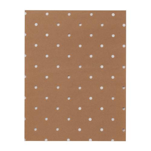 """Perforated Kraft Paper 7/8"""""""