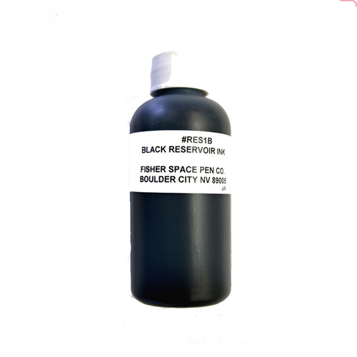 Fisher Black Reservoir Ink 16 oz