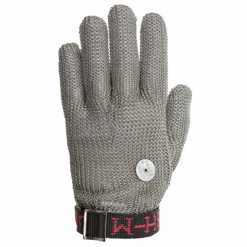 Stainless Steel Mesh Safety Glove  - U.S. Mesh - Wrist Length - Free Shipping CONUS
