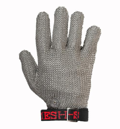 Stainless Steel Mesh Safety Glove  - U.S. Mesh - Wrist Length - Free Shipping CONUS