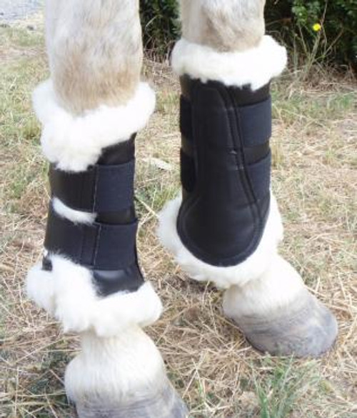 Front Boots w Lambs Wool