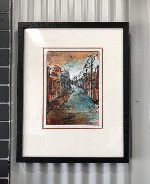 'The Old Main Street' Michelle Harpley Original