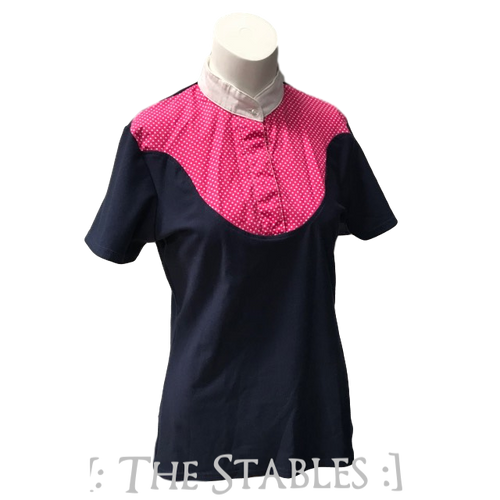 Dublin Competition Polo Navy/Pink L12