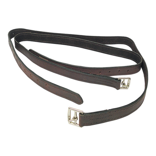 Deluxe Web Insert Stirrup Leathers