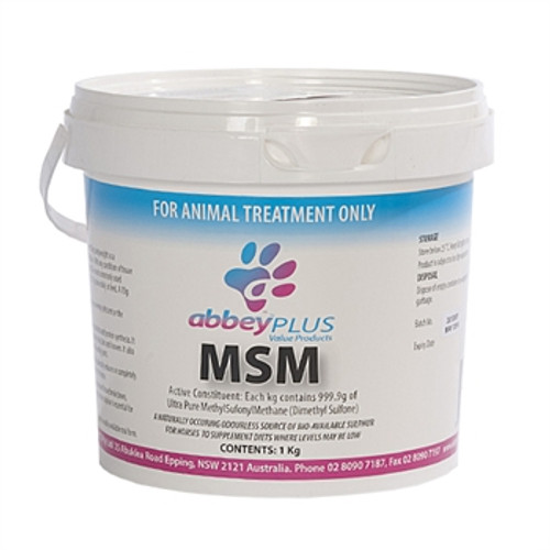 Abbey Labs MSM Powder 1kg