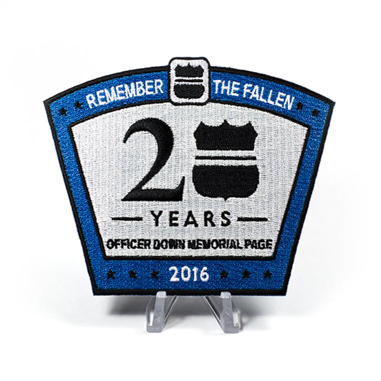 2016 ODMP Patch - 20th Anniversary