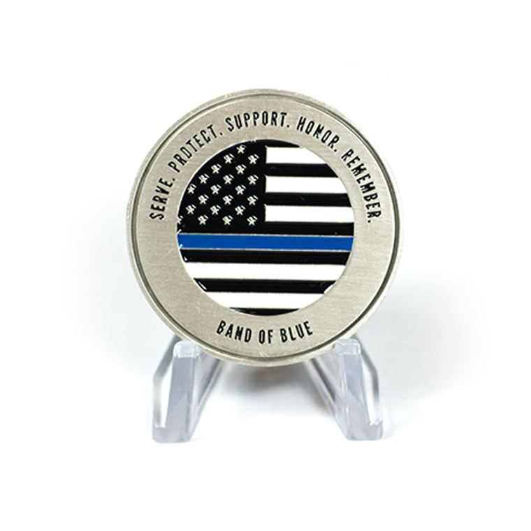 Officer Down Memorial Page 2017 Coin