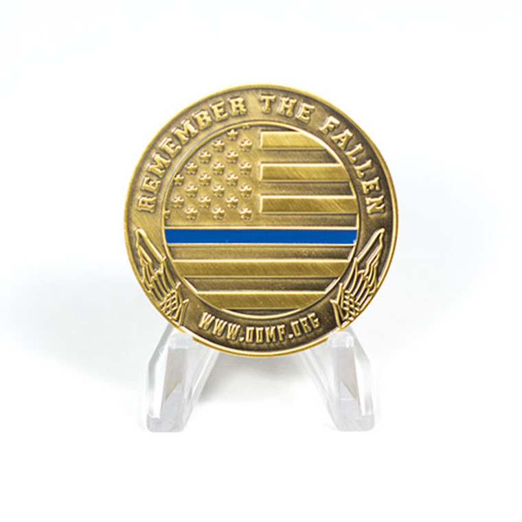 Officer Down Memorial Ride 2017 Coin