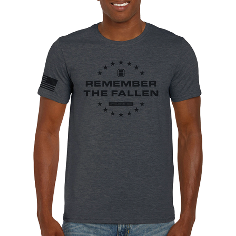 Remember the Fallen T-Shirt - Charcoal