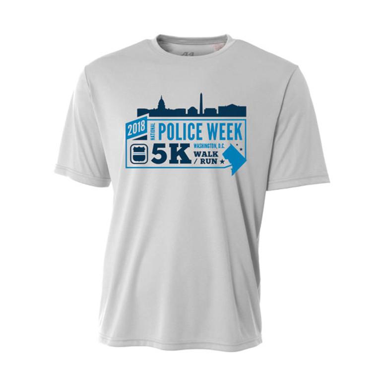 2018 National Police Week 5K Event Shirt