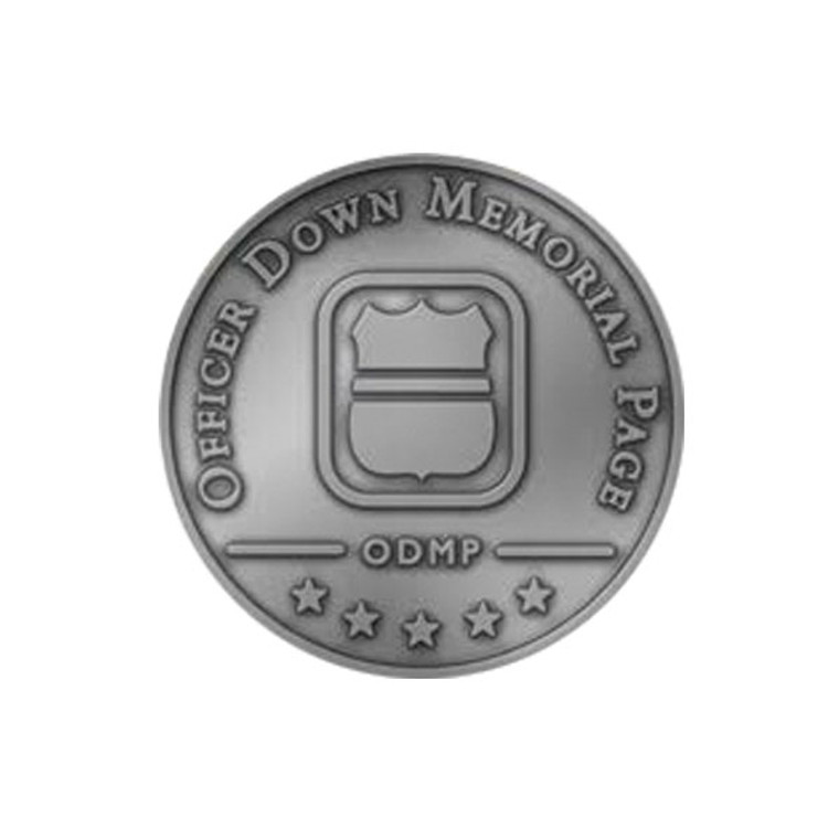ODMP Lapel Pin - Gunmetal Gray