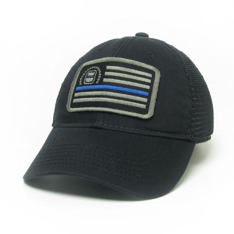 ODMP Flag Remember the Fallen Baseball Hat - Black