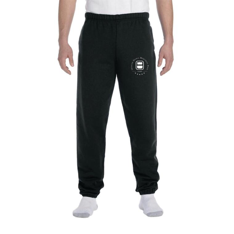 ODMP Logo Pocketed Sweatpants - Black