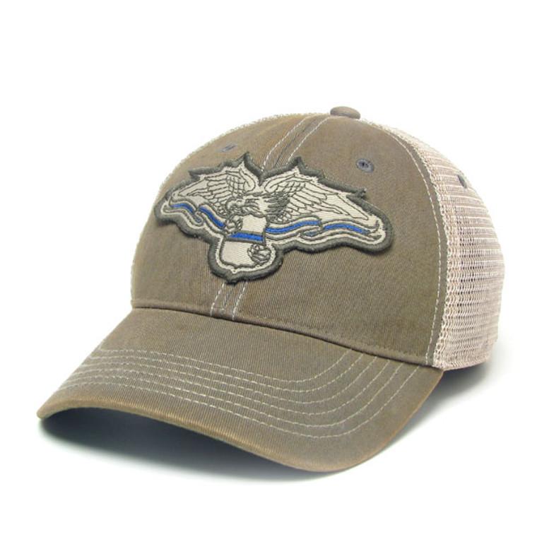 ODMR Blue Line Eagle Hat
