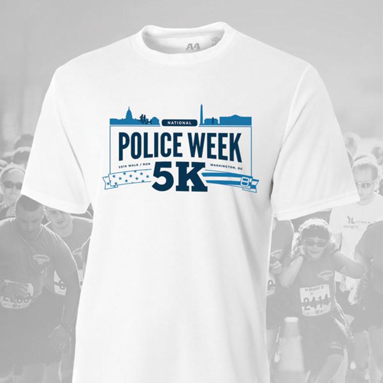 2019 National Police Week 5K Event Shirt