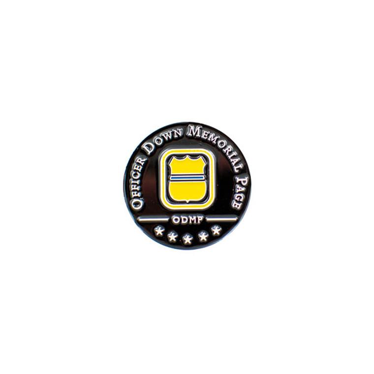 ODMP Lapel Pin - Black