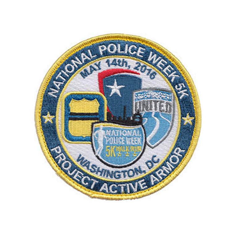 2016 National Police Week 5K - Project Active Armor Patch