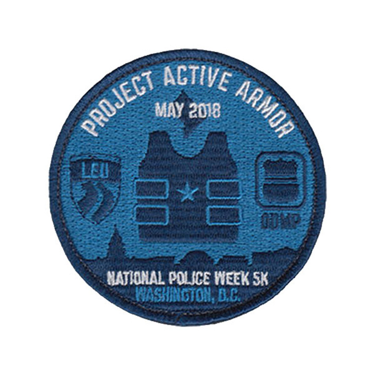 2018 National Police Week 5K - Project Active Armor Patch