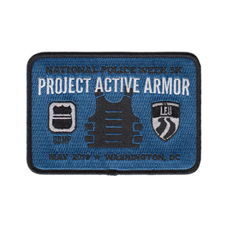 2019 National Police Week 5K - Project Active Armor Patch