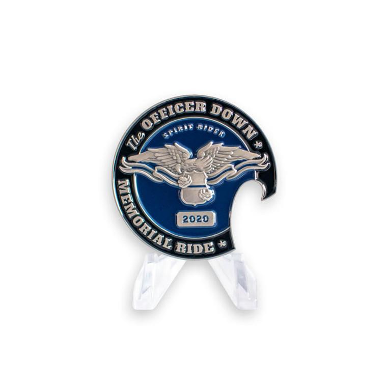 Officer Down Memorial Ride 2020 Coin