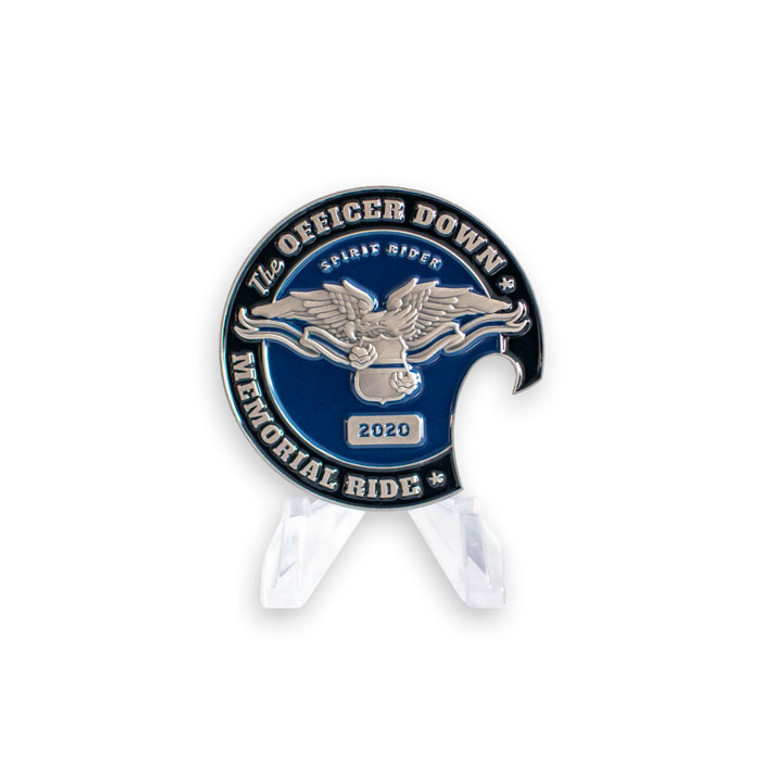 Officer Down Memorial Ride 2020 Coin
