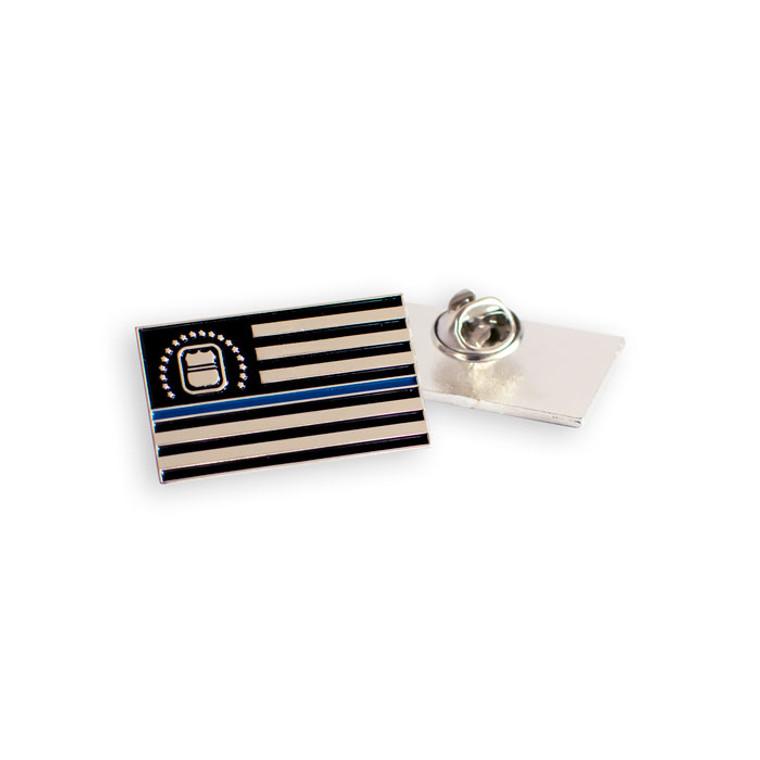 ODMP Thin Blue Line Pin