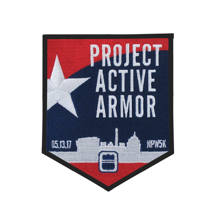 2017 National Police Week 5K - Project Active Armor Patch