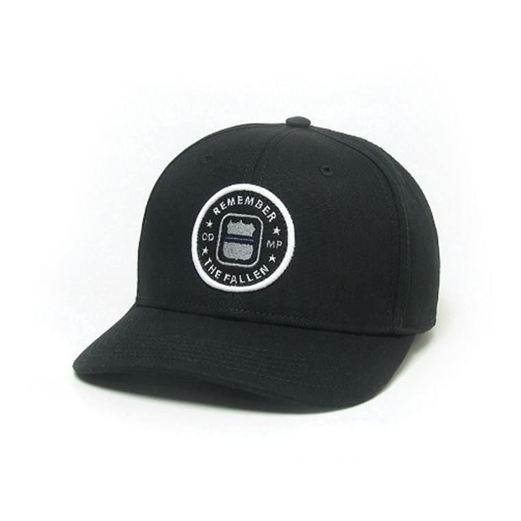 ODMP Remember the Fallen Baseball Mid-Pro Hat - Black