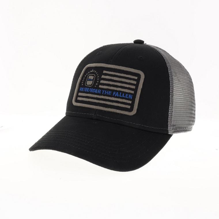 ODMP Flag Remember the Fallen Baseball Hat - Grey/Black