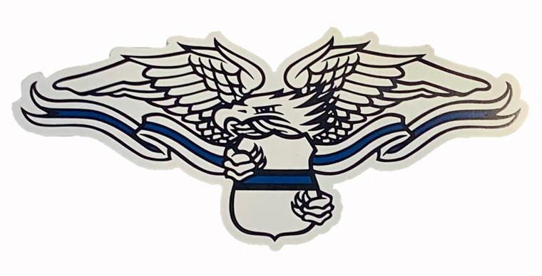 ODMP Blue Line Eagle Magnet