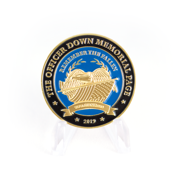 police week 2019 challenge coin