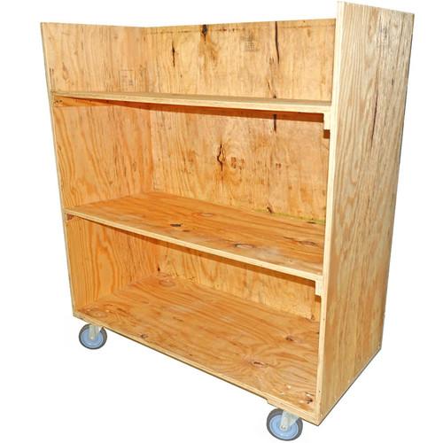 Rental 3 Shelf Computer Cart