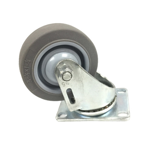 Non-Marking Swivel Casters- 3.5""
