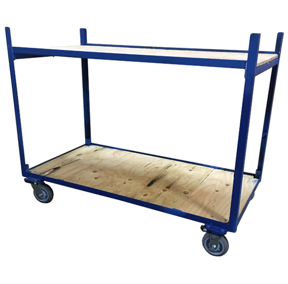 2 Shelf Open Cart