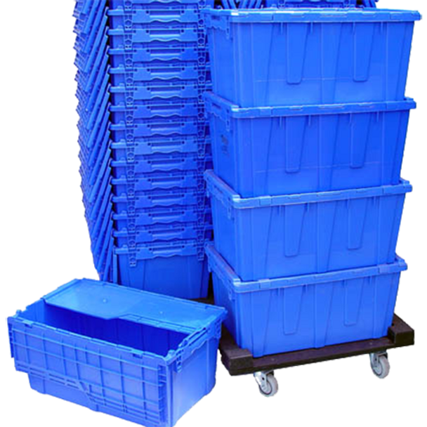Rental Blue Crates