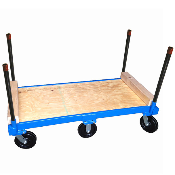 6-Wheel Pipe Cart