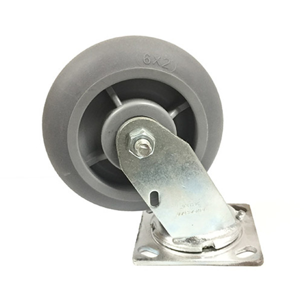 """Non-Marking Casters - 6"""""""