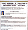 transition flex offense sets