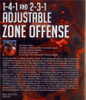 (Rental)-1-4-1 and 2-3-1 Adjustable Zone Offense