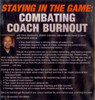 (Rental)-Staying In The Game: Combating Coach Burnout