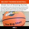 Big Shot Oversized training basketball