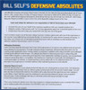 (Rental)-Bill Self's Defensive Absolutes