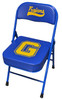 Custom sideline chair rubber feet steel hinges