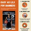 Super FX Custom Sports Player Banners