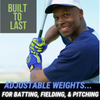 Homer Handz Weighted Batting Gloves Pitching throwing