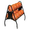 custom 12 ball basketball rack or cart personalized