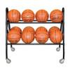 Custom basketball rack or cart for gym school