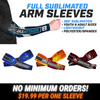 Design your own custom arm sleeves for any sport