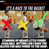 how to get low in basketball