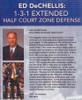 (Rental)-Ed Dechellis: 1--3--1 Extended Half Court Zone